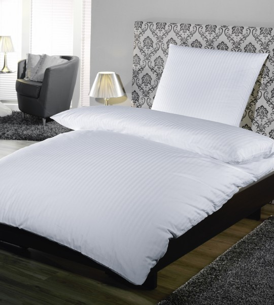Hotelbettwäsche Komfort verschiedene Streifen