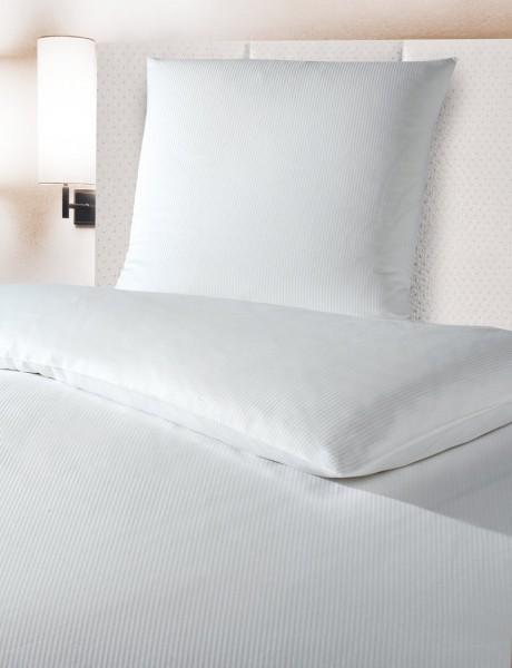 Hotelbettwäsche Feinstreifen 4 mm