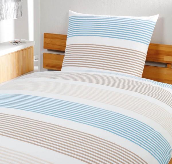 Hotelbettwäsche Dany meeresblau