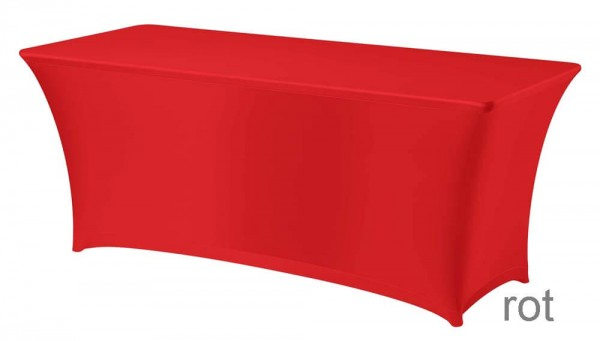 Tischhusse Symposium rot