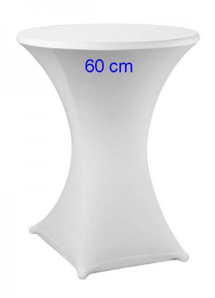 Stretchhusse Fix 60 cm weiß