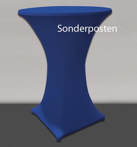 STRETCHHUSSE DECODORIA 70-85 cm 1 x 5 Stück blau