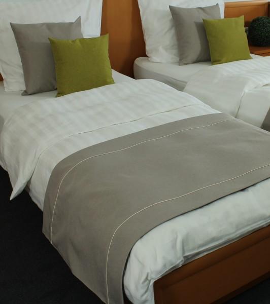 Hotel Bettläufer Milano taupe