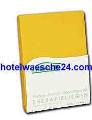 Therapieliegenbezug mit Nasenschlitz