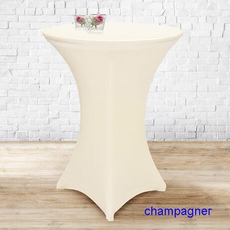 Stretchhusse 70-85 cm champagner