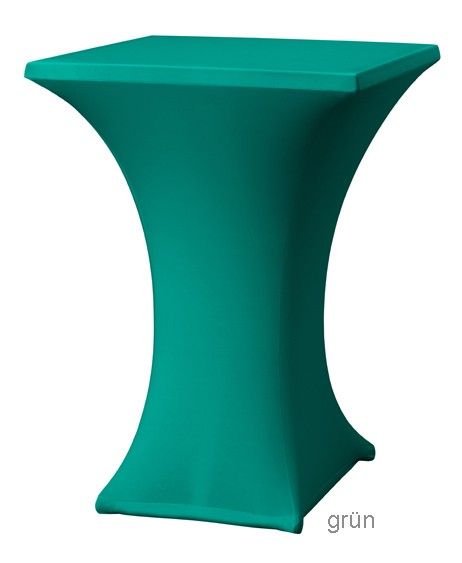 Stretchhusse Quadrat grün