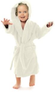 Mikroflausch Kinderbademantel