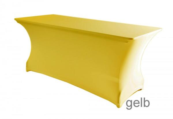 Tischhusse Symposium gelb